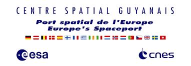 Logo Centre Spatial Guyanais