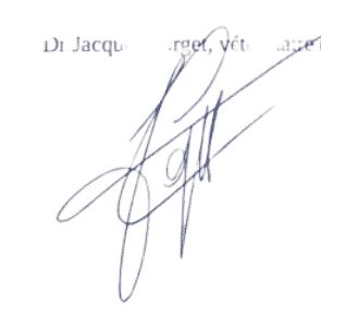 Signature Jacques Forget