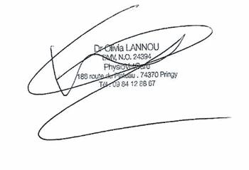 Signature Olivia Lannou