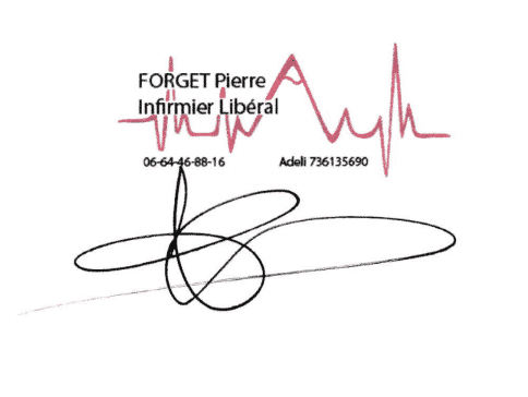 Signature Pierre FORGET