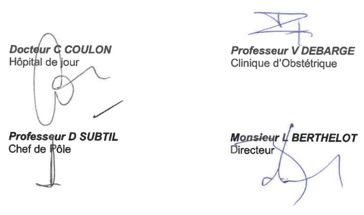 Signatures CHU Lille